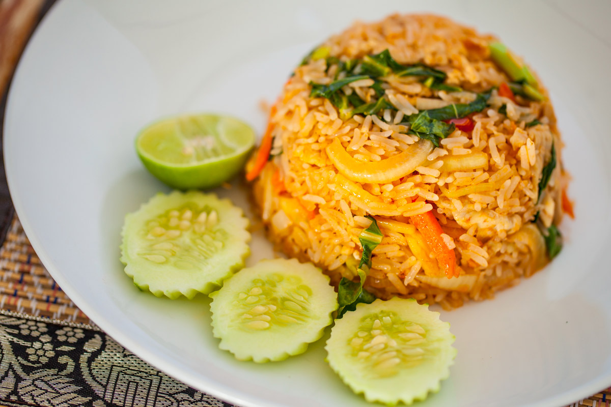khao pad at mali